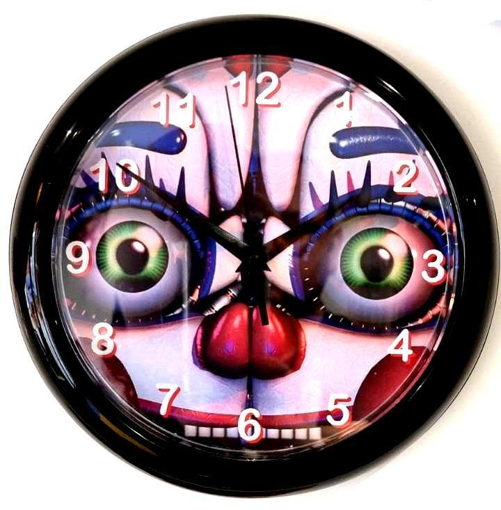 FNAF Five Nights at Freddy's Wall Clock